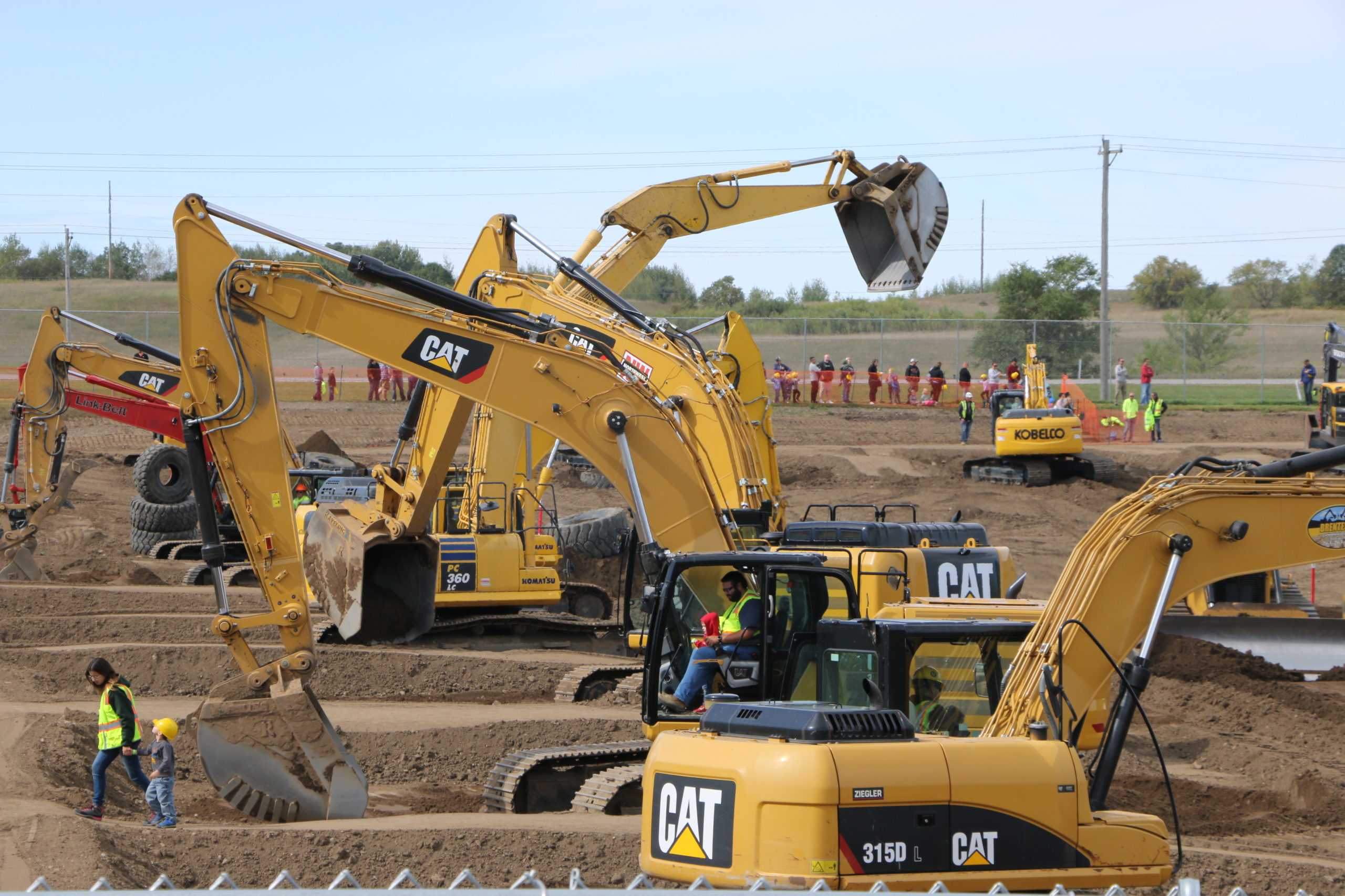 Day of the Dozers at ERX